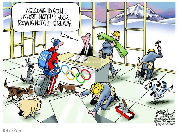 Gary Varvel  Gary Varvel's Editorial Cartoons 2014-04-07 winter Olympics