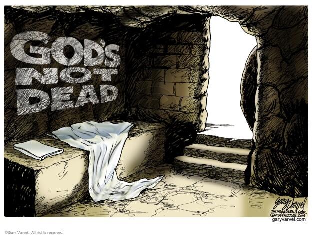 Cartoonist Gary Varvel  Gary Varvel's Editorial Cartoons 2014-04-20 Easter
