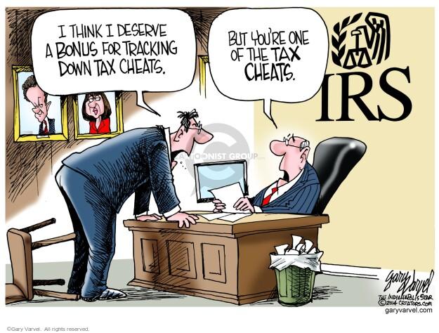 Cartoonist Gary Varvel  Gary Varvel's Editorial Cartoons 2014-04-24 tax return