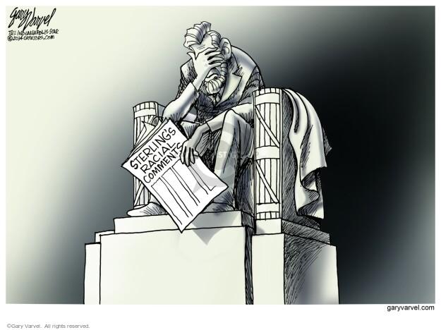 Cartoonist Gary Varvel  Gary Varvel's Editorial Cartoons 2014-04-30 legacy