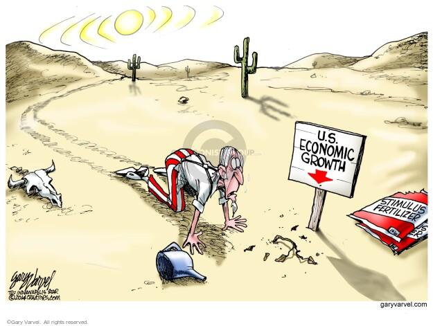 Gary Varvel  Gary Varvel's Editorial Cartoons 2014-05-01 economic recession