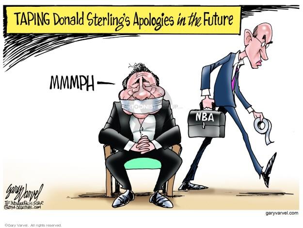 Gary Varvel  Gary Varvel's Editorial Cartoons 2014-05-14 racism