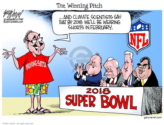 Cartoonist Gary Varvel  Gary Varvel's Editorial Cartoons 2014-05-21 temperature