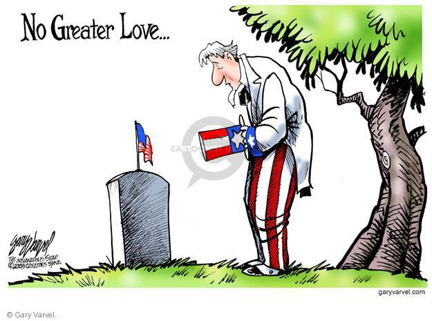 Cartoonist Gary Varvel  Gary Varvel's Editorial Cartoons 2014-05-26 remember