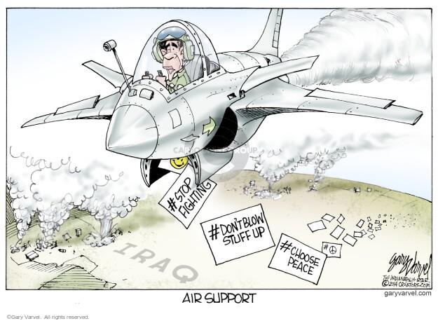Cartoonist Gary Varvel  Gary Varvel's Editorial Cartoons 2014-06-13 American president