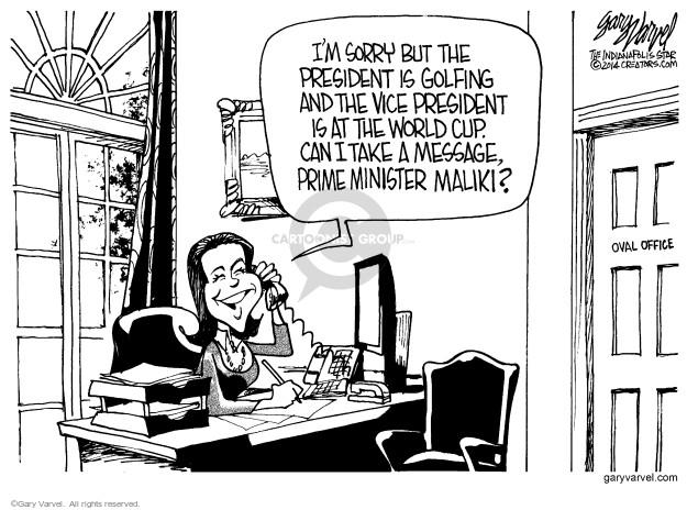 Gary Varvel  Gary Varvel's Editorial Cartoons 2014-06-17 policy