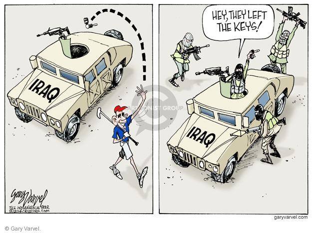 Cartoonist Gary Varvel  Gary Varvel's Editorial Cartoons 2014-06-22 American president