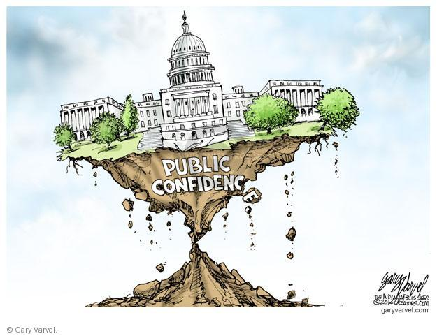 Cartoonist Gary Varvel  Gary Varvel's Editorial Cartoons 2014-06-23 capitol building