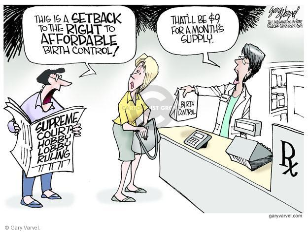 Gary Varvel  Gary Varvel's Editorial Cartoons 2014-07-01 prescription