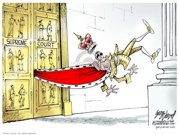 Cartoonist Gary Varvel  Gary Varvel's Editorial Cartoons 2014-07-06 branch of government