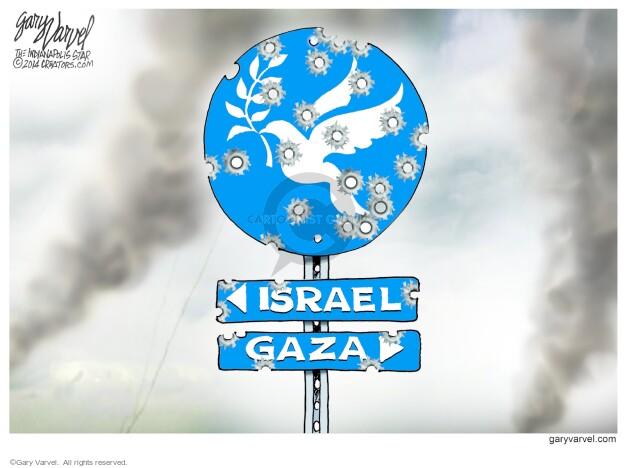 Israel. Gaza.