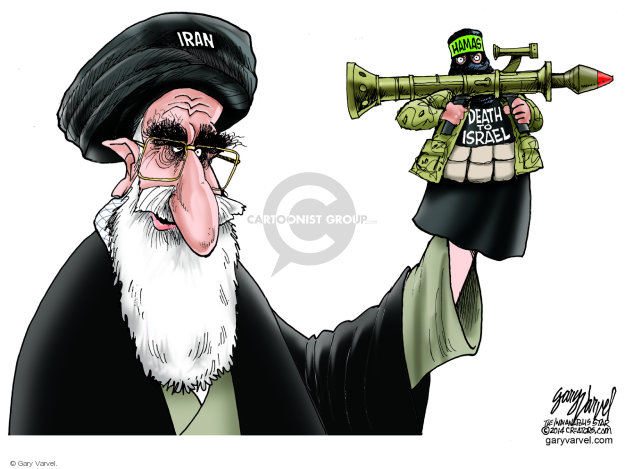 Gary Varvel  Gary Varvel's Editorial Cartoons 2014-07-27 Palestine