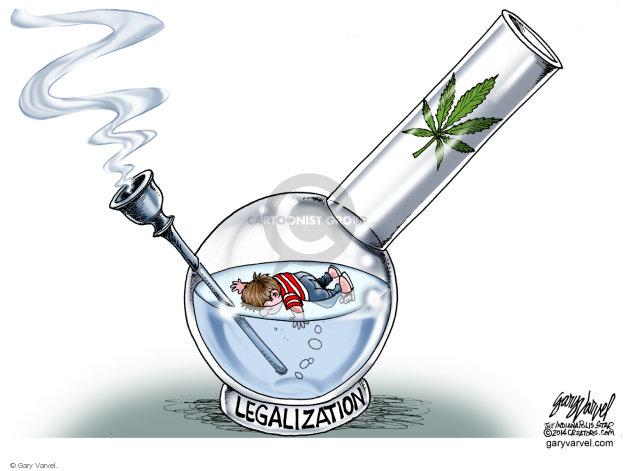 Cartoonist Gary Varvel  Gary Varvel's Editorial Cartoons 2014-07-30 illegal drug