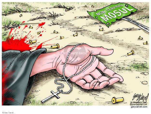 Cartoonist Gary Varvel  Gary Varvel's Editorial Cartoons 2014-08-01 Iraq