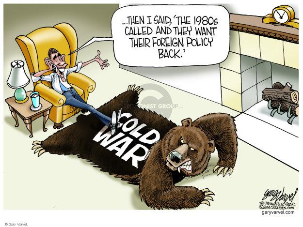 Cartoonist Gary Varvel  Gary Varvel's Editorial Cartoons 2014-08-08 back