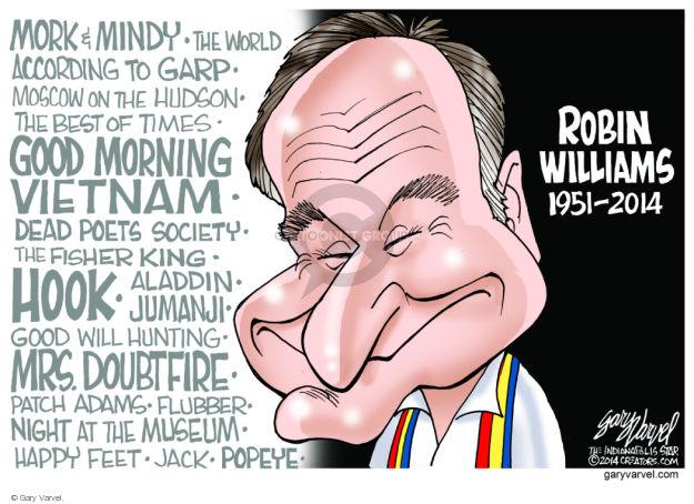 Cartoonist Gary Varvel  Gary Varvel's Editorial Cartoons 2014-08-13 Jack