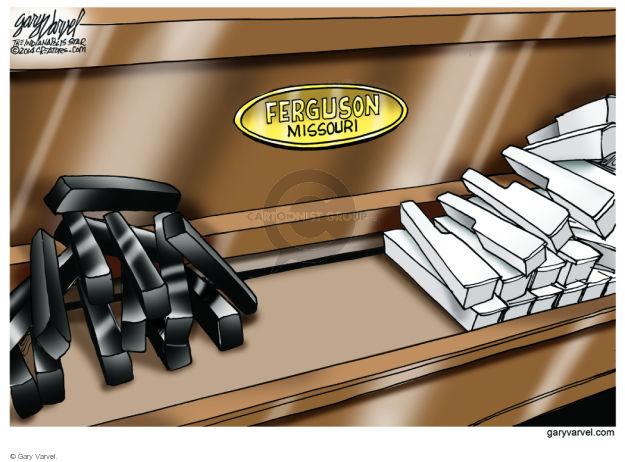 Cartoonist Gary Varvel  Gary Varvel's Editorial Cartoons 2014-08-18 African-American