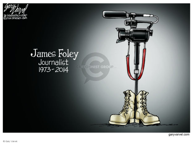 James Foley. Journalist. 1973 - 2014.