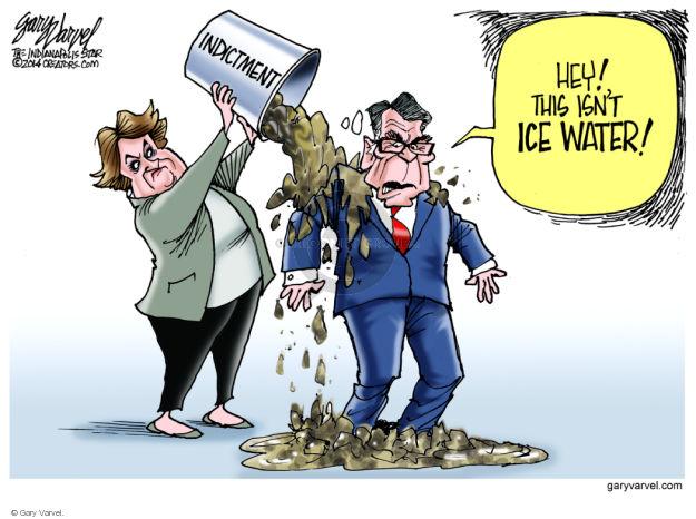 Cartoonist Gary Varvel  Gary Varvel's Editorial Cartoons 2014-08-22 Texas