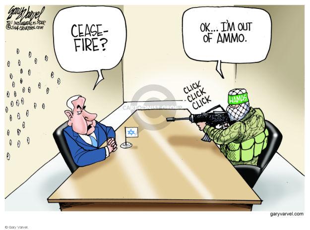 Gary Varvel  Gary Varvel's Editorial Cartoons 2014-08-27 Palestine