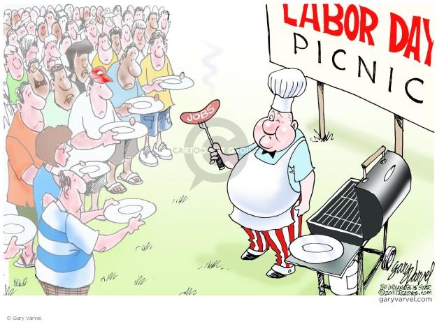 Gary Varvel  Gary Varvel's Editorial Cartoons 2014-09-01 unemployed
