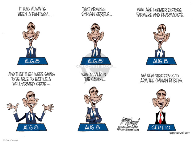 Gary Varvel  Gary Varvel's Editorial Cartoons 2014-09-12 doctor