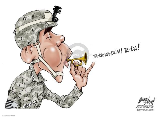 Cartoonist Gary Varvel  Gary Varvel's Editorial Cartoons 2014-09-15 Obama terrorism