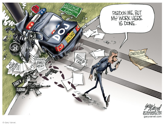 Gary Varvel  Gary Varvel's Editorial Cartoons 2014-09-29 crash