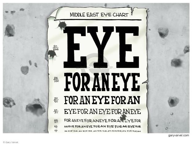 Cartoonist Gary Varvel  Gary Varvel's Editorial Cartoons 2014-07-22 eye