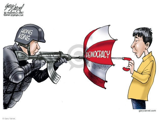 Gary Varvel  Gary Varvel's Editorial Cartoons 2014-10-03 civil disobedience