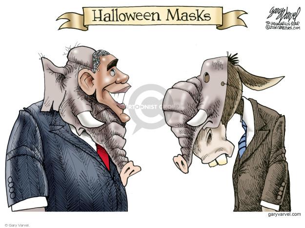 Cartoonist Gary Varvel  Gary Varvel's Editorial Cartoons 2014-10-13 republican party