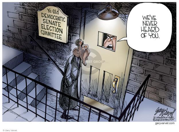 Gary Varvel  Gary Varvel's Editorial Cartoons 2014-10-22 midterm election
