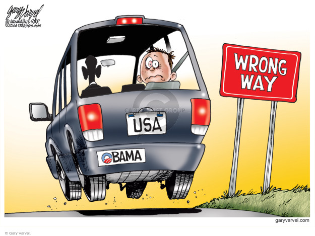 Cartoonist Gary Varvel  Gary Varvel's Editorial Cartoons 2014-10-26 immigrant