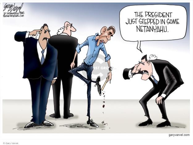Gary Varvel  Gary Varvel's Editorial Cartoons 2014-10-30 diplomacy