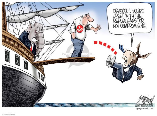 Gary Varvel  Gary Varvel's Editorial Cartoons 2014-11-09 midterm election