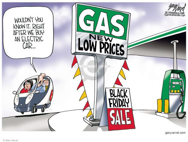 Gary Varvel  Gary Varvel's Editorial Cartoons 2014-11-25 price