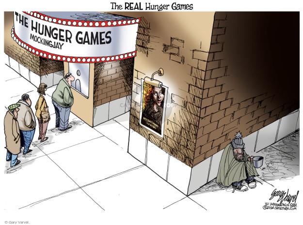 Gary Varvel  Gary Varvel's Editorial Cartoons 2014-11-30 poverty