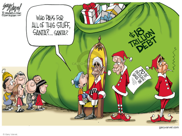 Gary Varvel  Gary Varvel's Editorial Cartoons 2014-12-04 $18