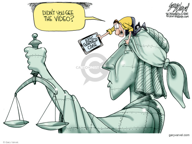 Cartoonist Gary Varvel  Gary Varvel's Editorial Cartoons 2014-12-05 law