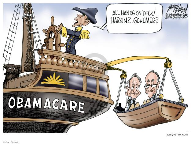 Cartoonist Gary Varvel  Gary Varvel's Editorial Cartoons 2014-12-07 Barack Obama