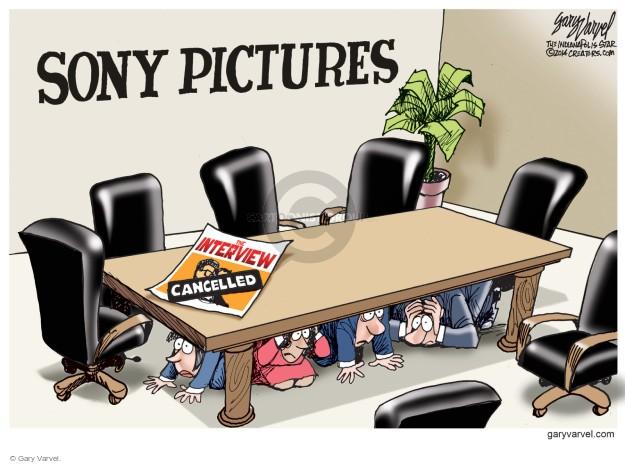 Cartoonist Gary Varvel  Gary Varvel's Editorial Cartoons 2014-12-19 North Korea