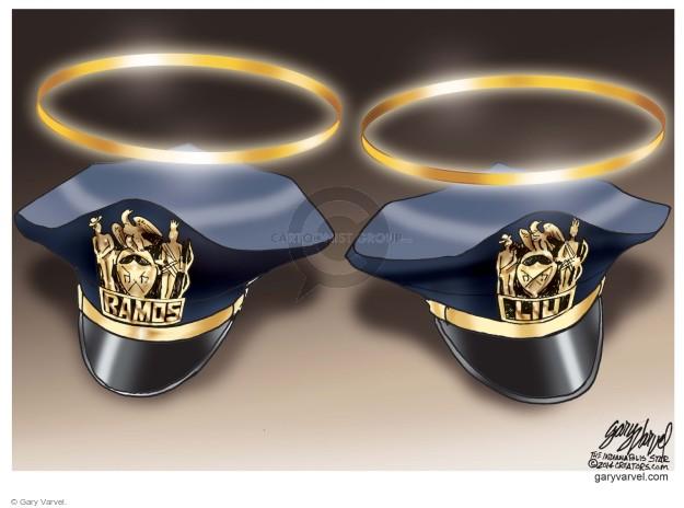 Cartoonist Gary Varvel  Gary Varvel's Editorial Cartoons 2014-12-23 attack