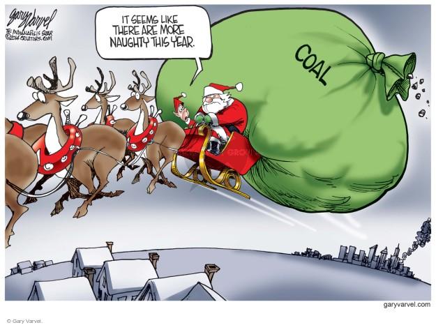 Cartoonist Gary Varvel  Gary Varvel's Editorial Cartoons 2014-12-24 behavior