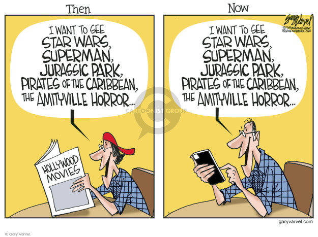 Cartoonist Gary Varvel  Gary Varvel's Editorial Cartoons 2015-01-07 technology