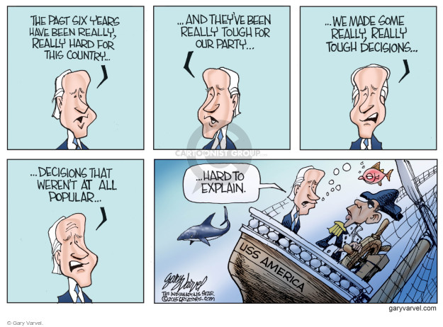 Gary Varvel  Gary Varvel's Editorial Cartoons 2015-02-04 Obama Biden