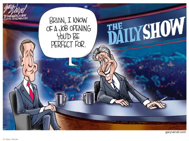 Cartoonist Gary Varvel  Gary Varvel's Editorial Cartoons 2015-02-13 NBC