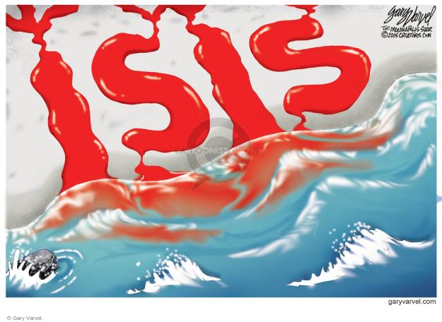 Cartoonist Gary Varvel  Gary Varvel's Editorial Cartoons 2015-02-17 Islam