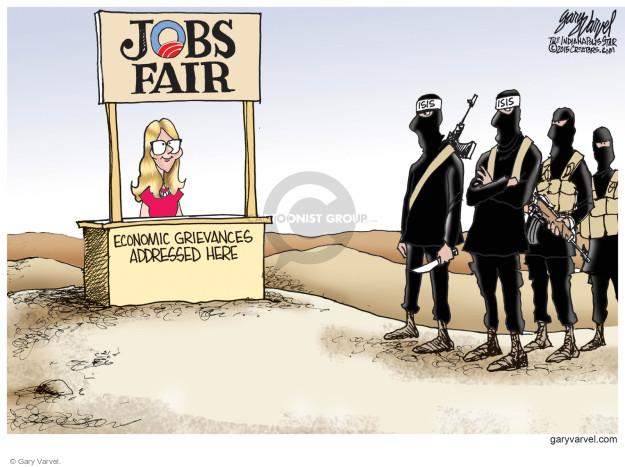 Cartoonist Gary Varvel  Gary Varvel's Editorial Cartoons 2015-02-20 employment