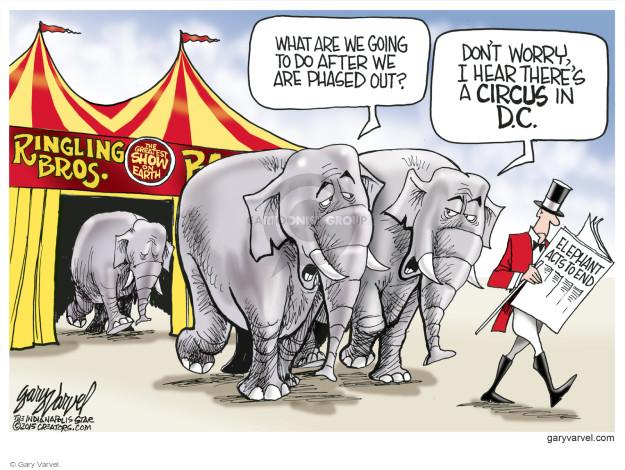 Cartoonist Gary Varvel  Gary Varvel's Editorial Cartoons 2015-03-08 worry