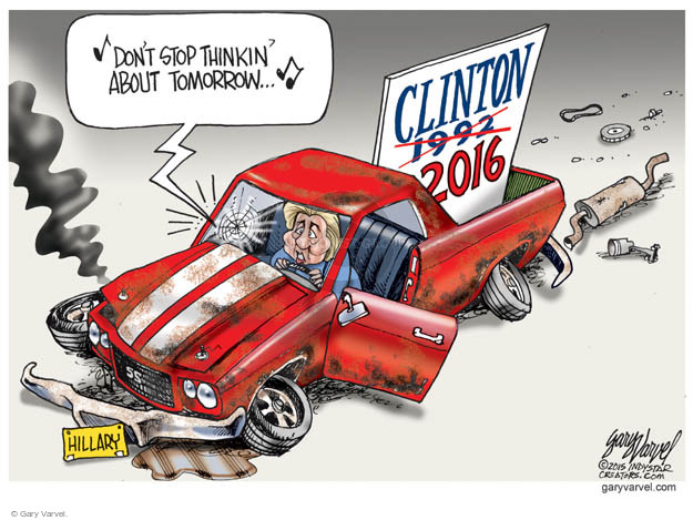 Gary Varvel  Gary Varvel's Editorial Cartoons 2015-03-16 1992 election